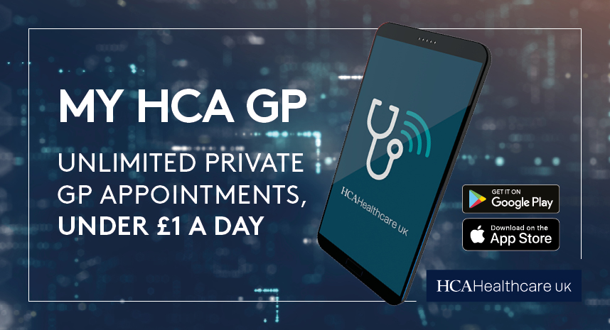 My HCA GP | HCA Healthcare UK