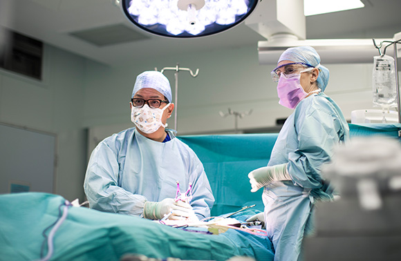 Consultants in surgery