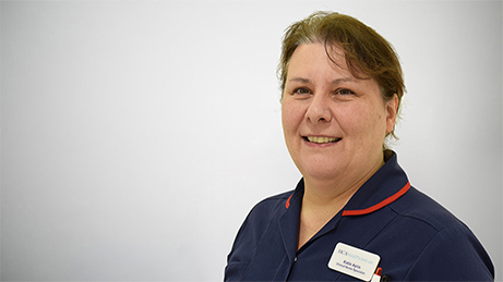 Katie Ayris Clinical Nurse Specialist